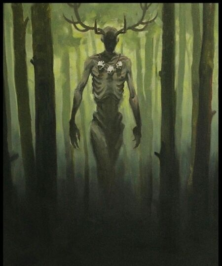 The red haired giants of Nevada-The Wendigo