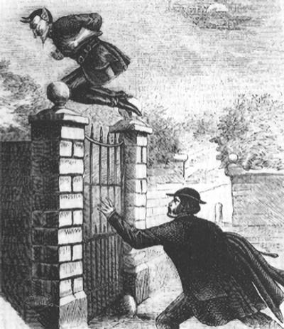 Spring Heeled Jack: the terror of Victorian England