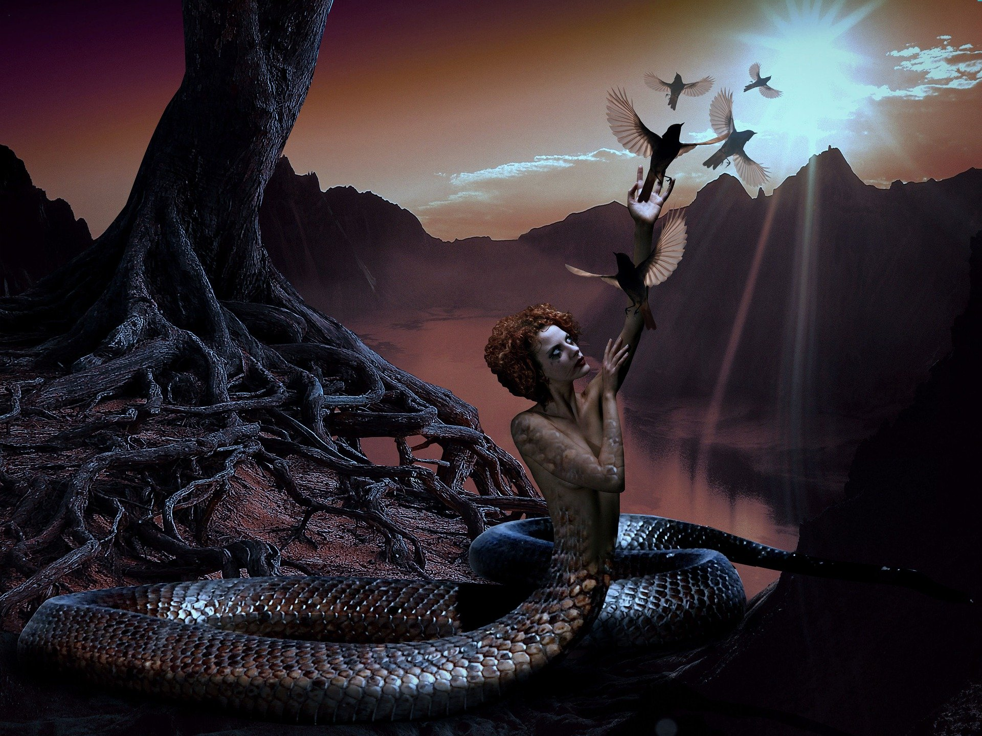 Through the coils of the Serpent-Men: The Nagas_half human and half snake