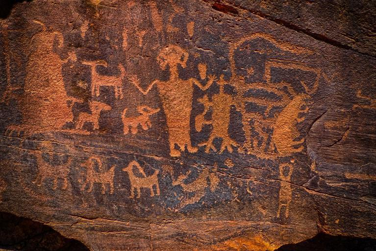 The ancestral bond between the Anunnaki and the Ant People of the Hopi Native Americans-Hopi-art-petroglyph