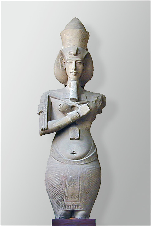 The ancestral bond between the Anunnaki and the Ant People of the Hopi Native Americans-Osiriac colossus representing Akhenaton