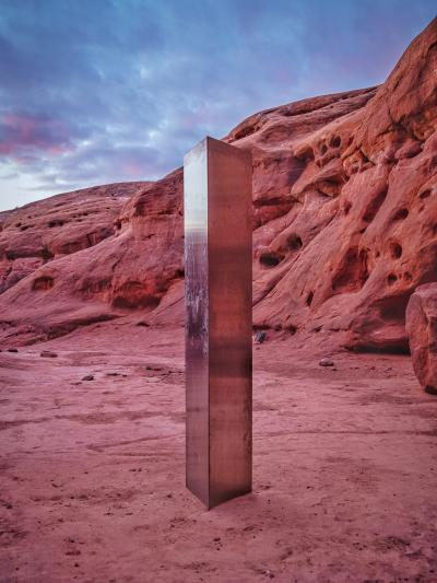 The enigma of the Monoliths which appear and disappear