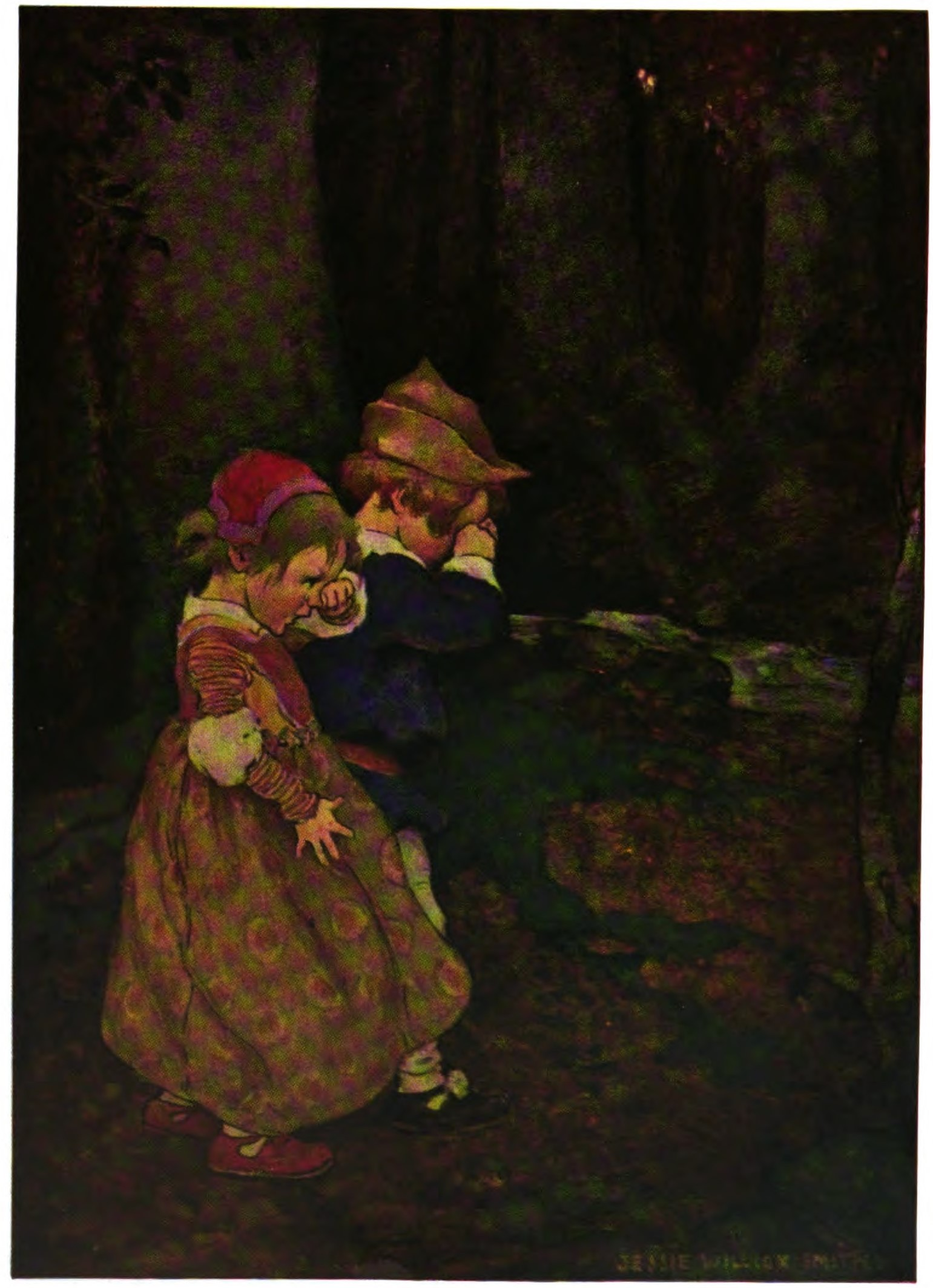 Mysterious people from other worlds: The Green Children of Woolpit-Babes_in_the_Wood