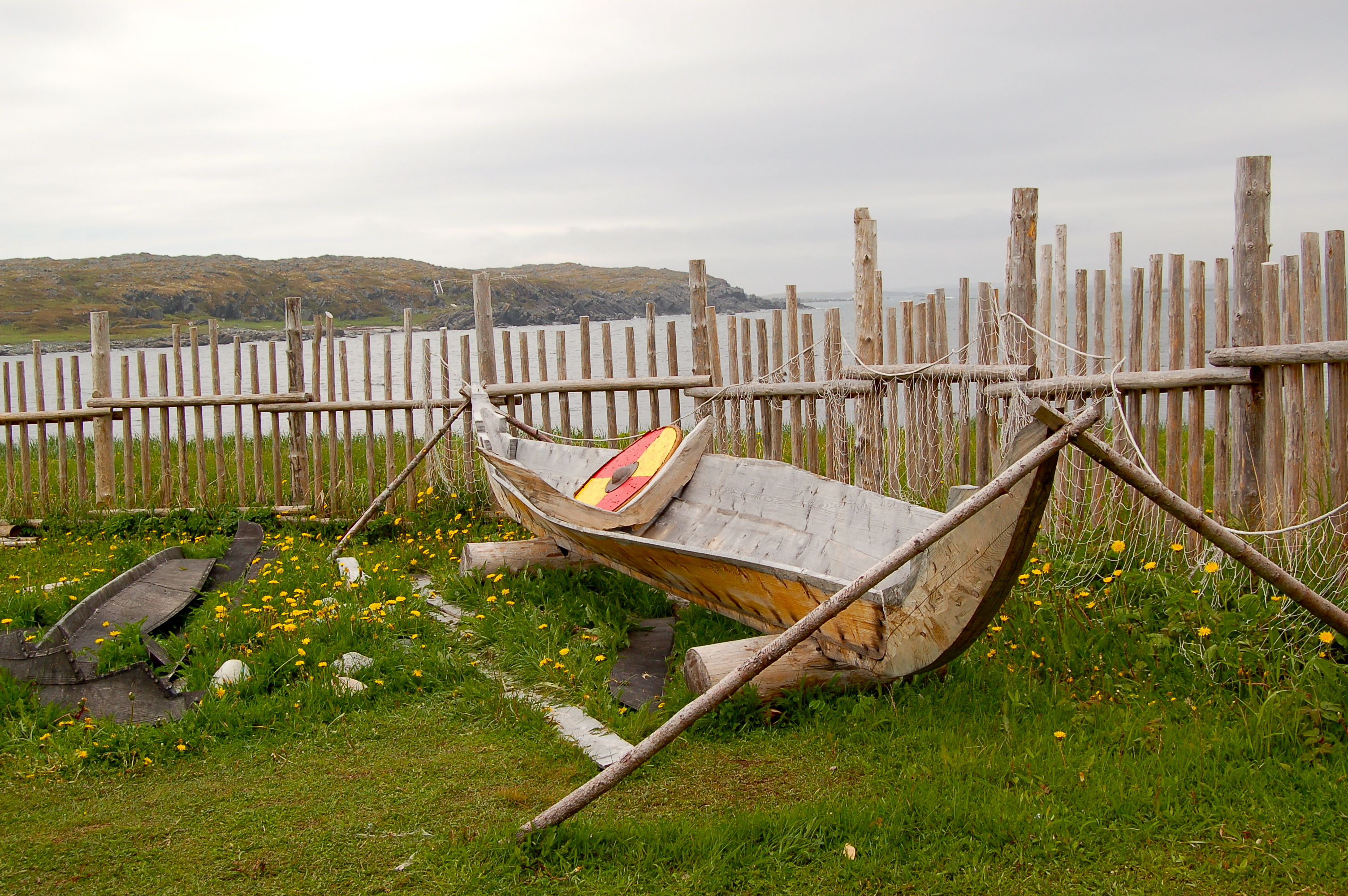 The Maine Penny: trails of Vikings in North America-L'Anse_aux_Meadows_National_Historic_Site