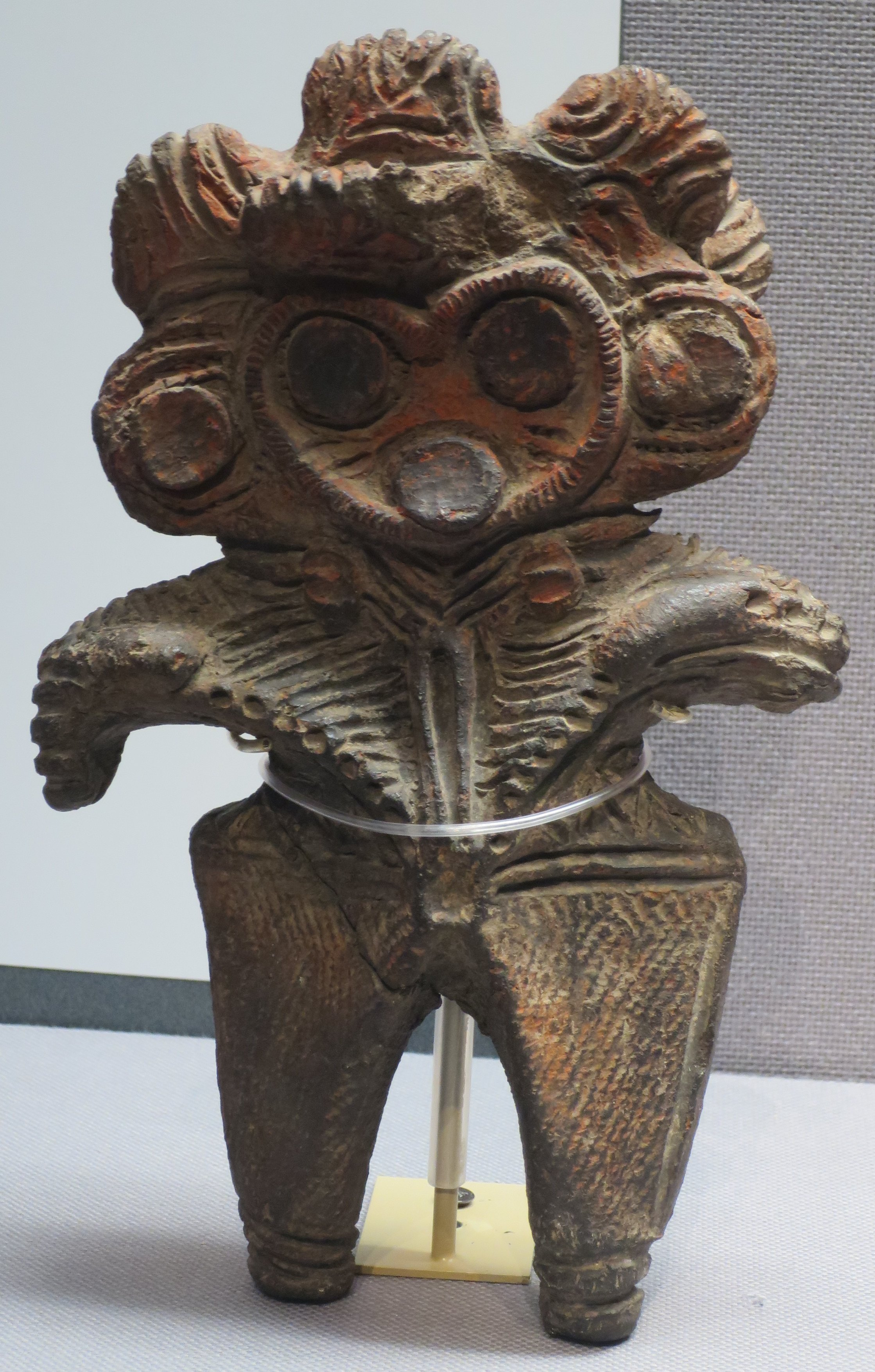 Dogū Statues from Ancient Japan-Heart_shaped_Type
