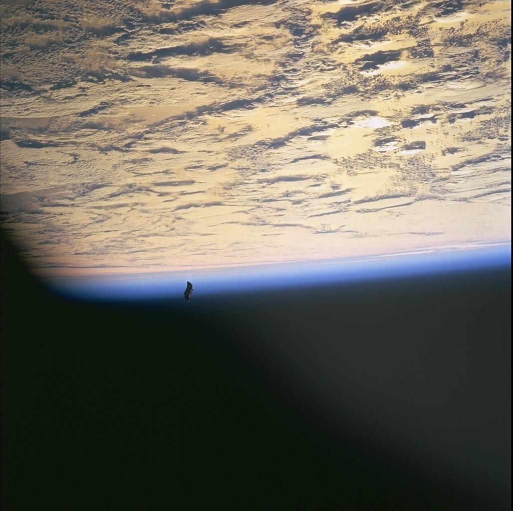 Black Knight-NASA photo taken during Space Shuttle mission STS-88