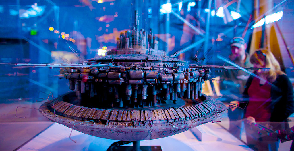 Project Serpo-Close_Encounters_of_the_Third_Kind_Mother_Ship_spacecraft_model
