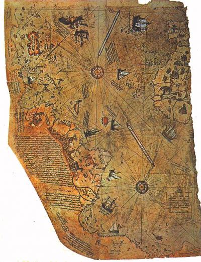 Amazing Maps: the Piri Reis World Map