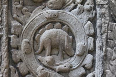 Ta Prohm's Bas-Relief: The Cambodian Stegosaurus